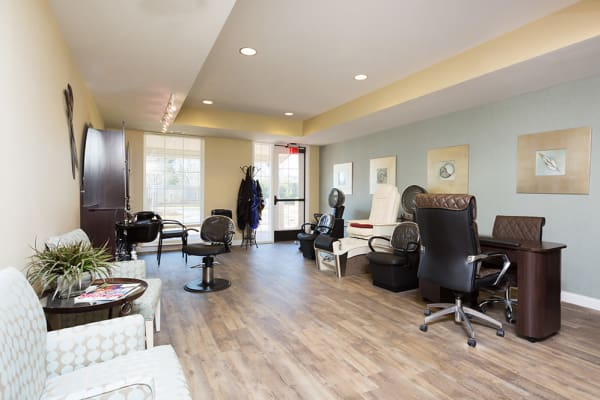 Concierge services - Salon, Spa and On-Site Massage at Cedar Lake Assisted Living & Memory Care