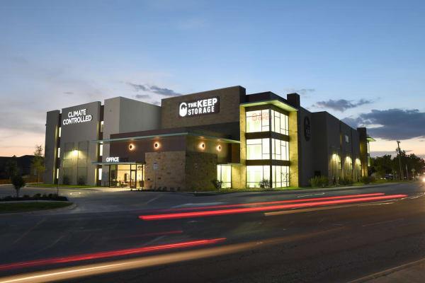 Storage units at The Keep Storage - Thousand Oaks in San Antonio, Texas