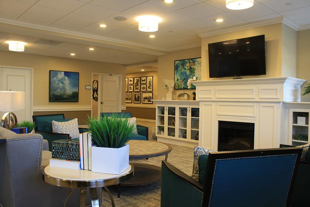 Interior of leasing office at Pathway to Living in Chicago, IL