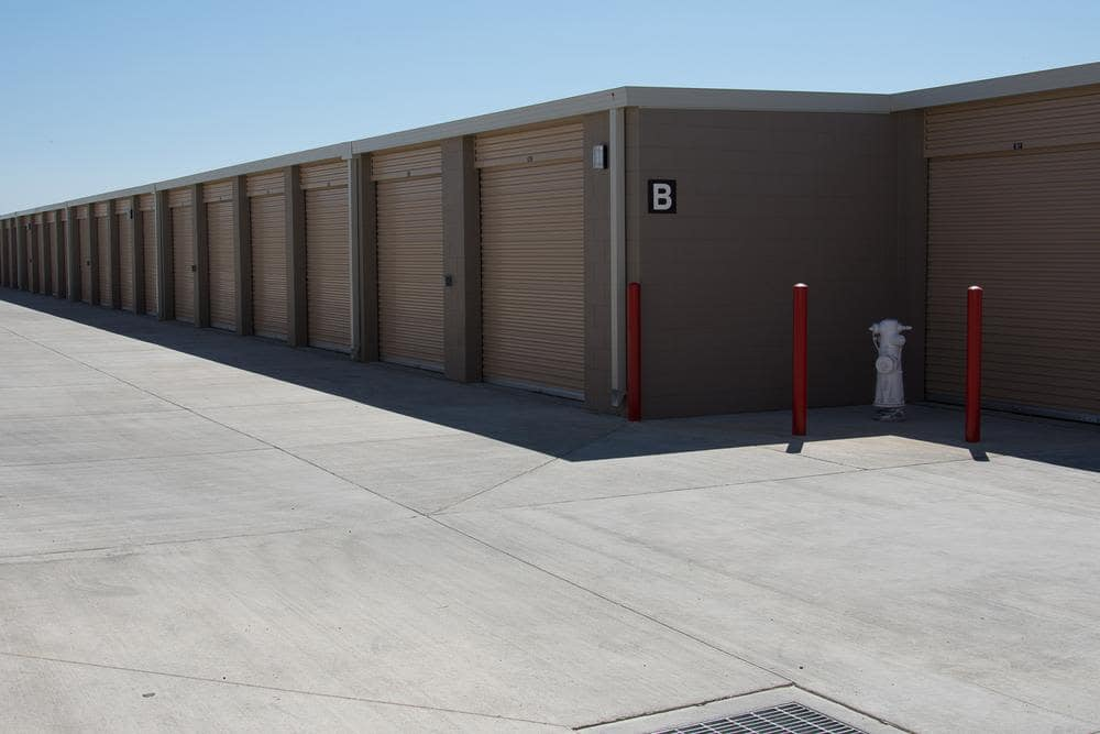 Units at Roseville Self Storage in Roseville, CA