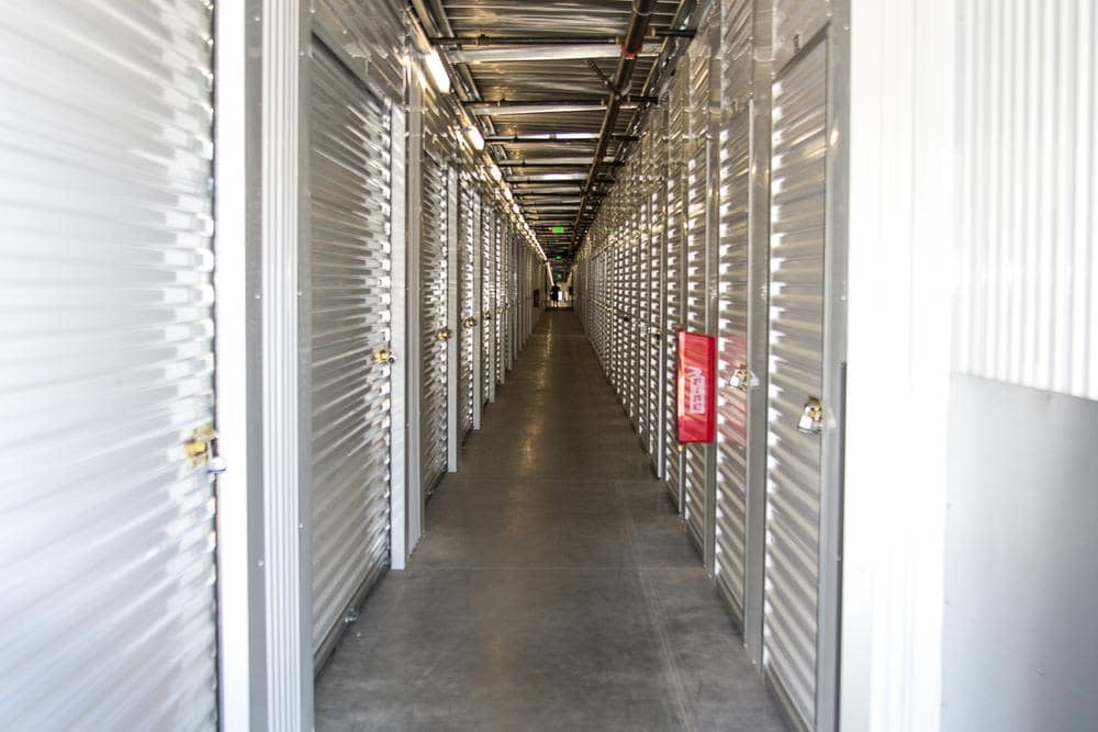 Interior Units at Roseville Self Storage in Roseville, CA