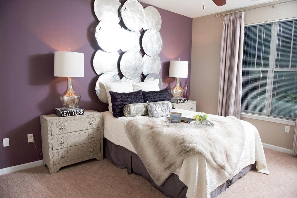 Enjoy a unique bedroom at Manor Six Forks