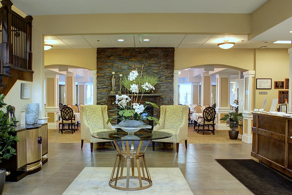 Entrance to HighPointe Assisted Living