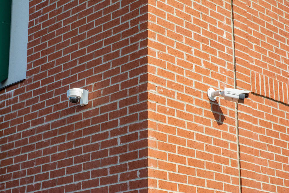 Security cameras at Mini Storage Depot in Westfield, Indiana