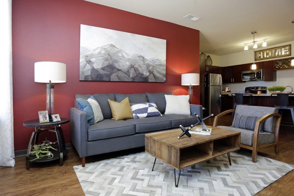 Living Room - Luxury Apartments in Aurora, CO