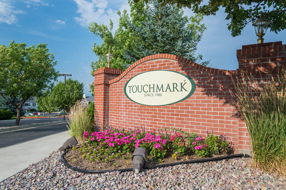 Branding and signage at Touchmark on Saddle Drive in Helena, Montana