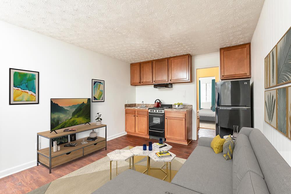 Living Area at Brockport Landing in Brockport, New York