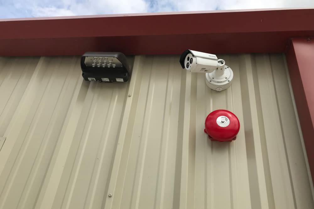 Security camera at Storage Authority Land O' Lakes in Land O' Lakes, Florida
