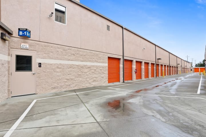 Drive-up units are just the beginning of the self storage options available at A-1 Self Storage on South Bascom Avenue in San Jose, California.