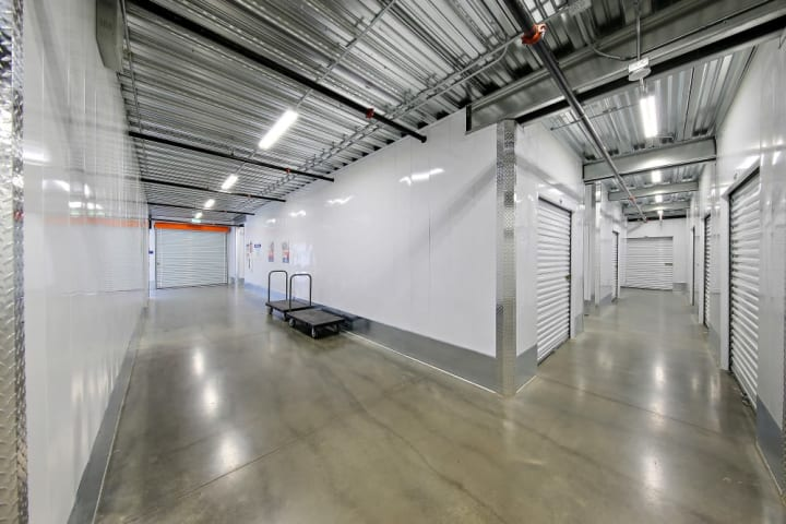 A-1 Self Storage in Imperial Beach features wide interior hallways and push-carts for your convenience.