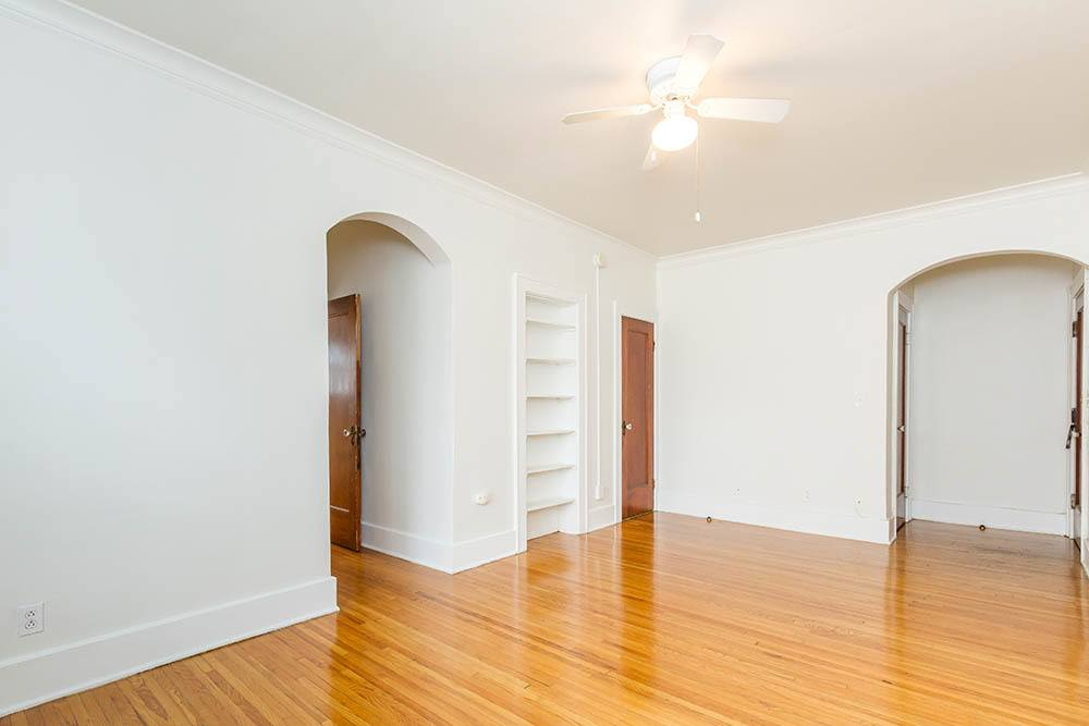 Hardwood floors at Colby, Carlton, and Colby Park Apartments in Rochester, New York