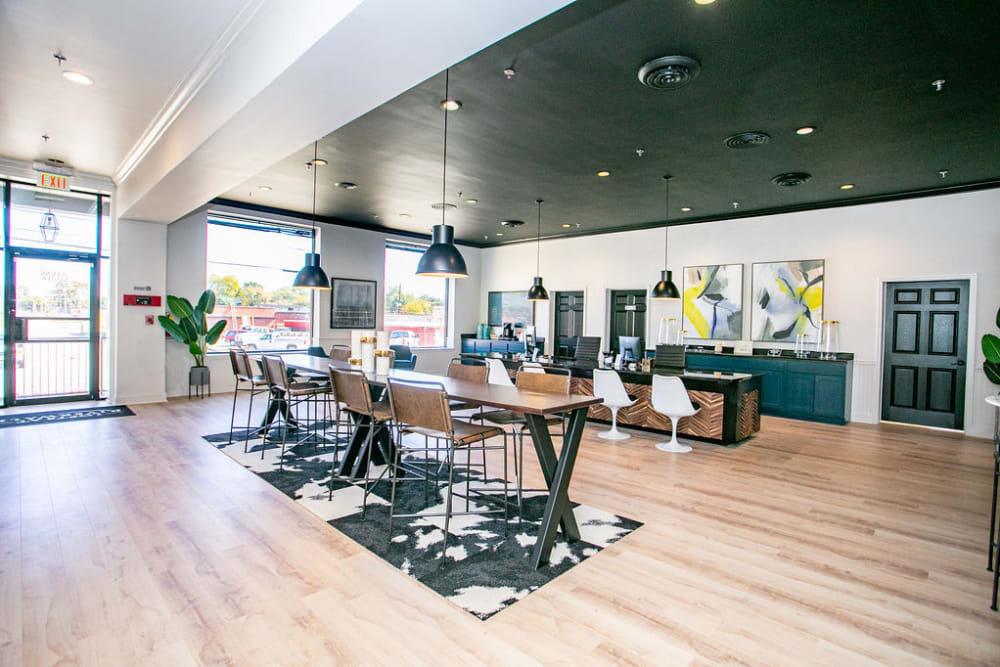 Resident lounge in Columbus, Georgia near Lofts at Riverwalk