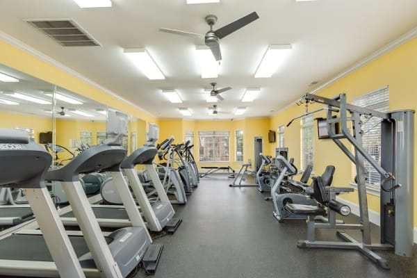 24-hour fitness center at Reserve at Long Point in Hattiesburg, Mississippi