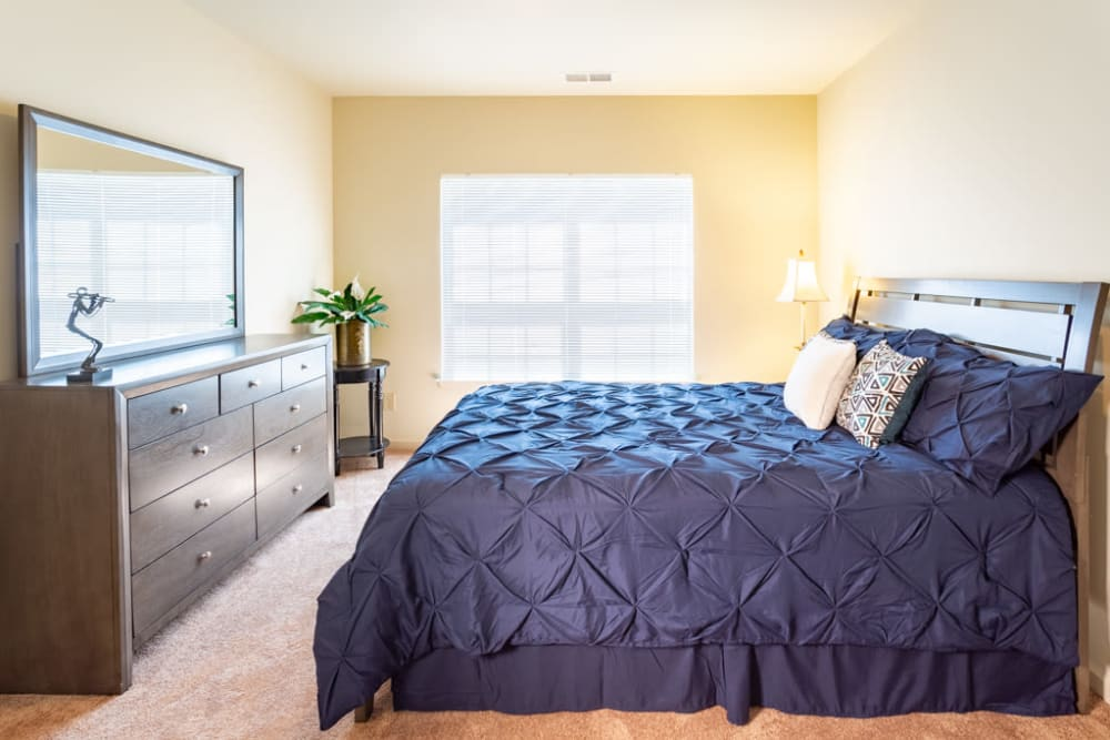 Bedroom at The Harmony Collection at Roanoke - Independent Living in Roanoke, Virginia