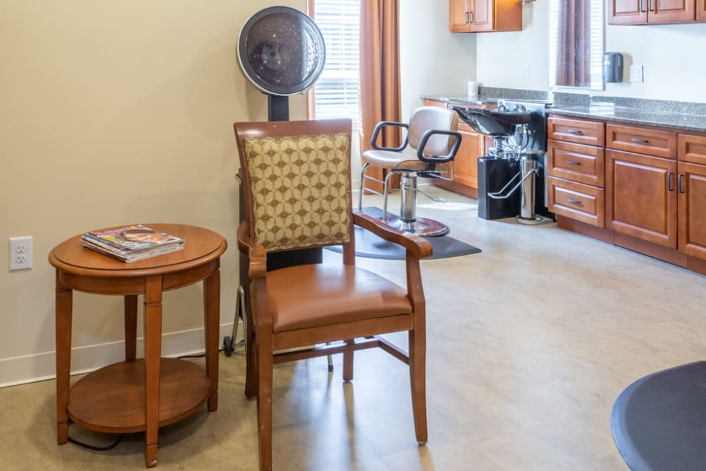 Salon at The Harmony Collection at Roanoke - Memory Care in Roanoke, Virginia