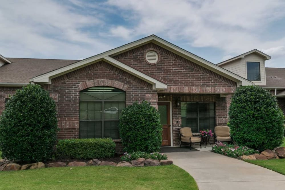 Exterior at RockBrook Memory Care in Lewisville, Texas