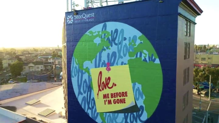 Mural to Urge World Conservation