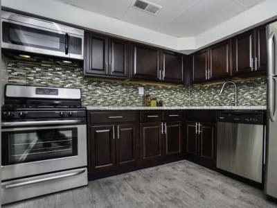 Beautiful kitchen at Henson Creek Apartment Homes in Temple Hills, MD