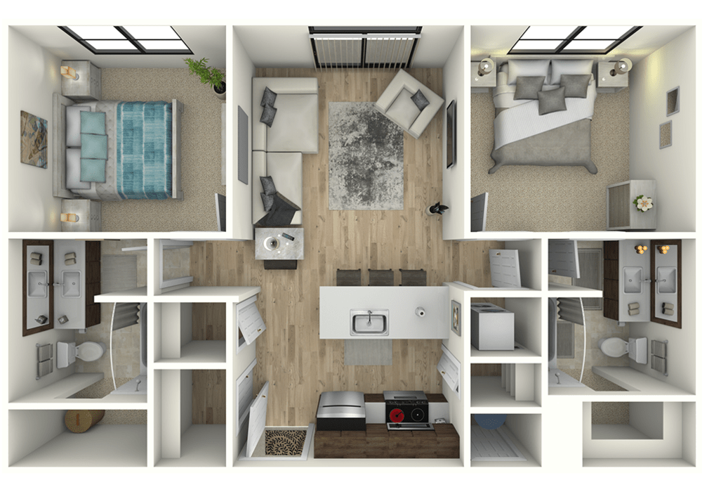 Two Bedroom Luxury apartment near Vail Colorado