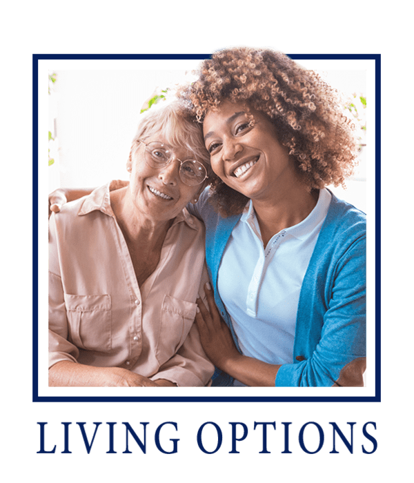 Living options at Welbrook at Bloomington in Bloomington, Illinois