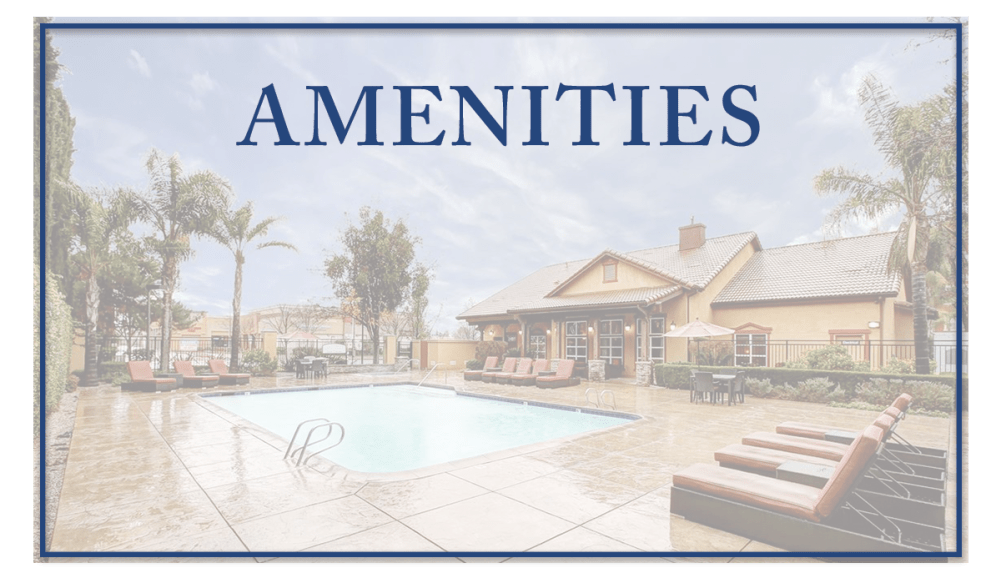Amenities at Brooks Landing in Modesto, CA