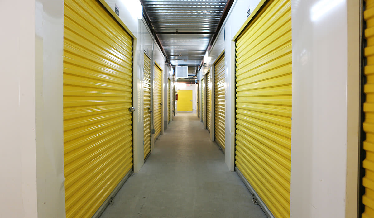 Interior units at at StoreSmart Self-Storage in Charleston, South Carolina