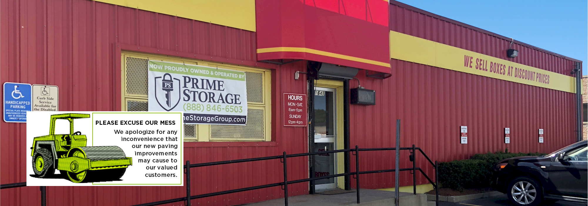 Prime Storage in Hyde Park, MA