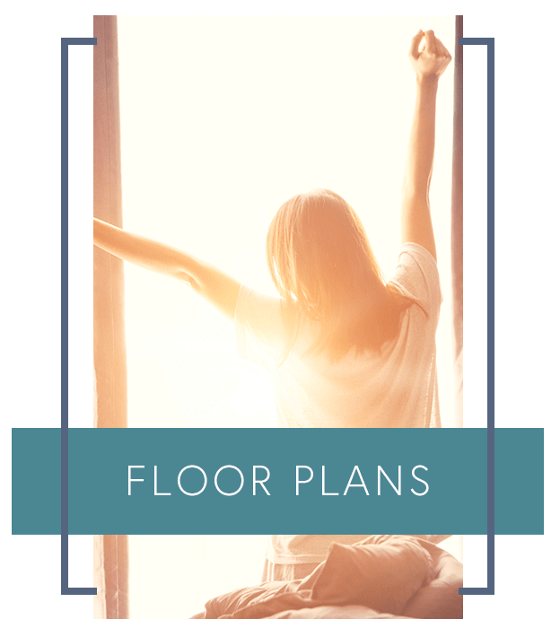 Learn more about our spacious floor plans at The Enclave at 1550 Apartments
