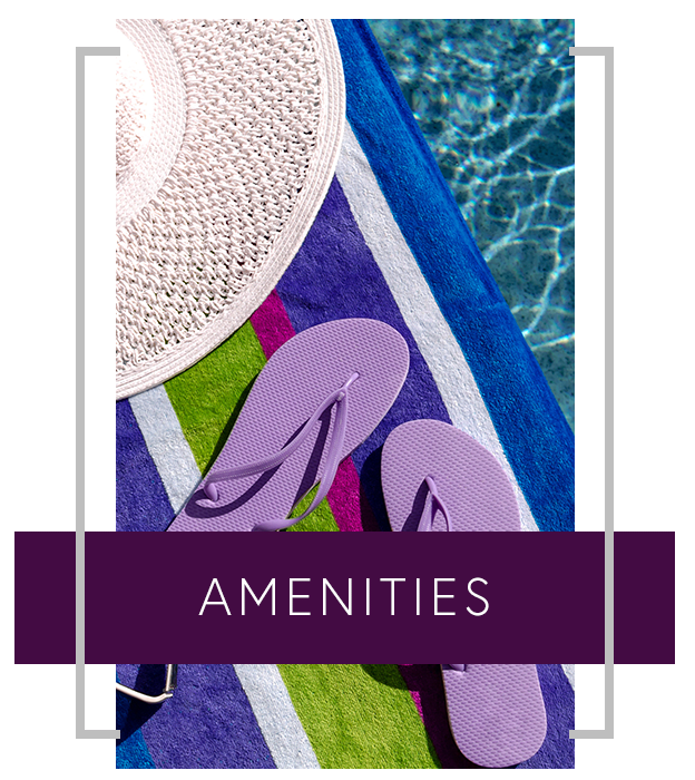 Learn more about the amenities we offer at Miro at the Parc