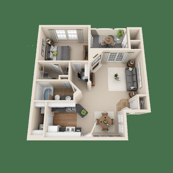 One Bedroom Apartments Colorado Springs