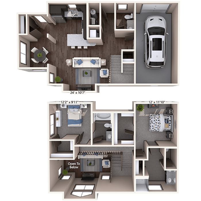 Luxury 1, 2 & 3 Bedroom Apartments In Timnath, CO Near