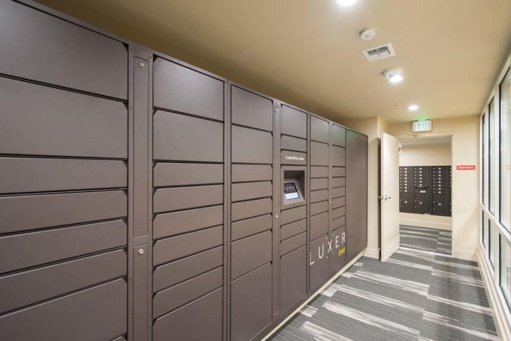 Package Lockers at