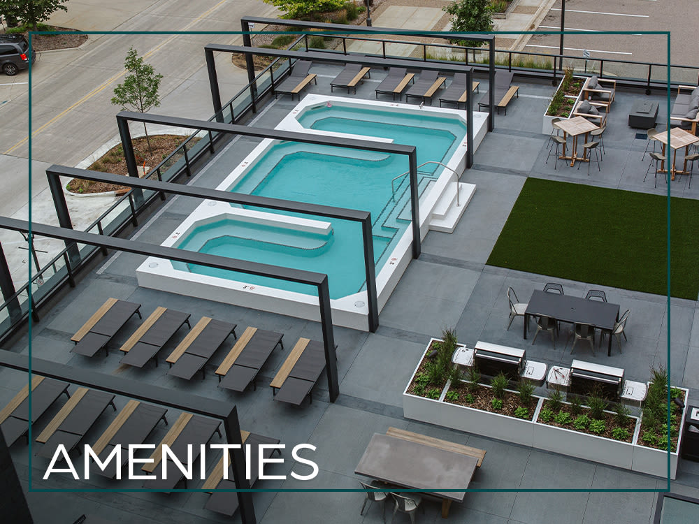 View the photos of our amenities at The Maven on Broadway in Rochester, Minnesota