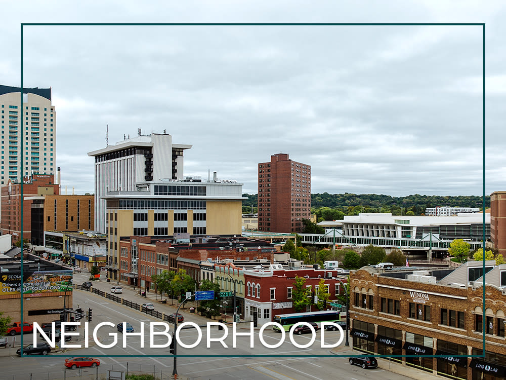 View the photos of our neighborhood at The Maven on Broadway in Rochester, Minnesota
