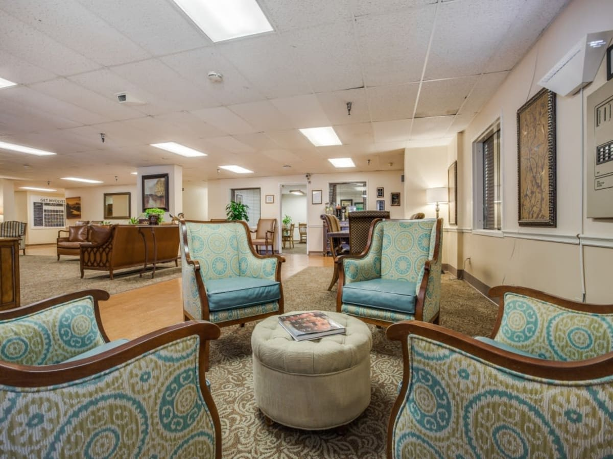 Common area at Parsons House Austin in Austin, Texas