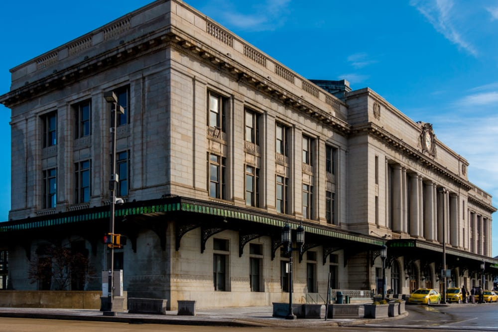 Historical building in Baltimore, Maryland near Nelson Kohl Apartments