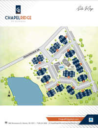 Site map of Chapel Ridge in Norman, Oklahoma