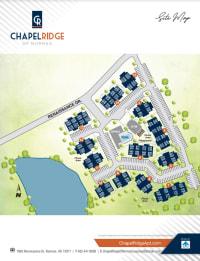 Site map of Chapel Ridge in Norman, Oklahoma