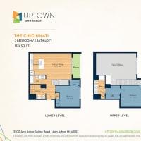 The Cincinnati floor plan image