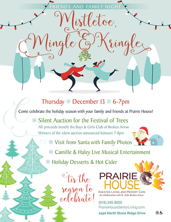 Prairie House hosts a monthly Friends & Family Night