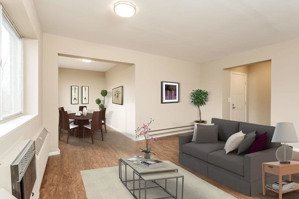 Ample living space at Manlius Academy in Manlius, New York