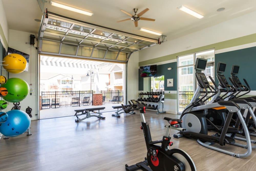 24/7 fitness center at Springs at McDonough in McDonough, GA