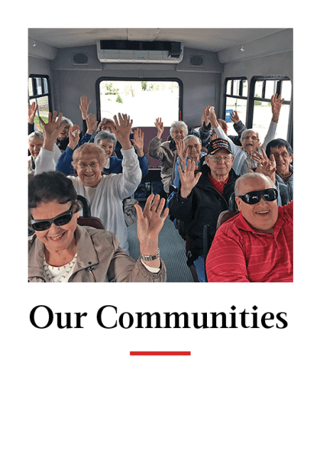 Our Communities at Hawthorn Senior Living