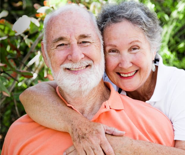 Happy residents at Inspired Living Bonita Springs