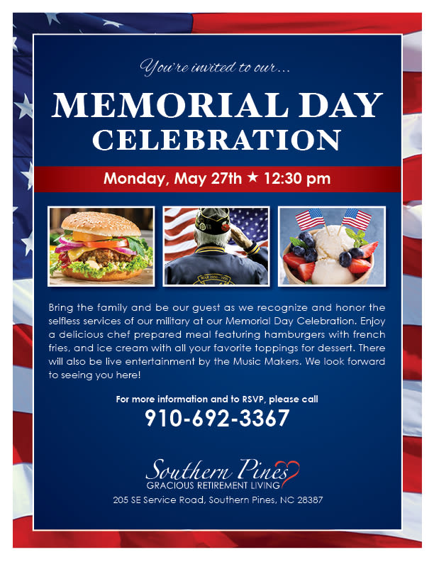 Open event at Southern Pines Gracious Retirement Living.
