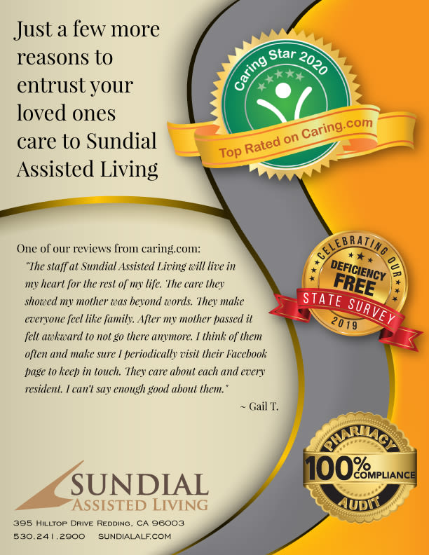 Sundial Assisted Living appreciation