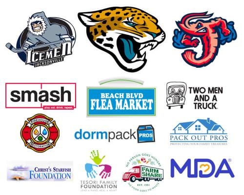 Atlantic Self Storage Business Partner Logos
