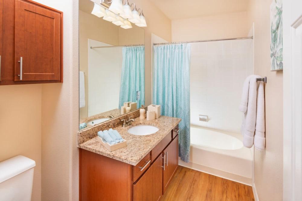 Bathroom at Villas on Hampton Avenue in Mesa, Arizona