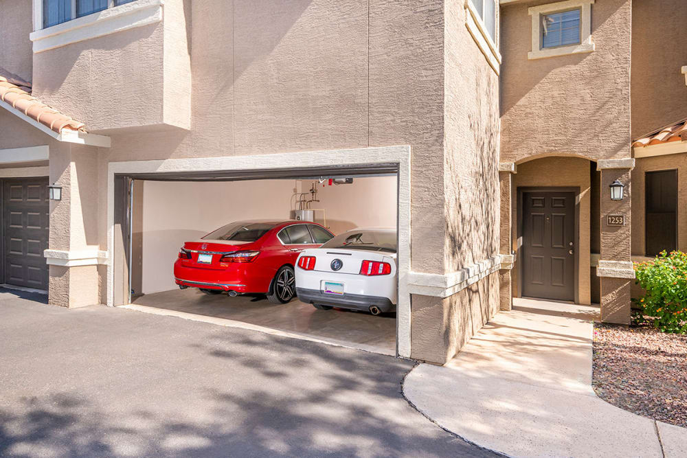 Our Apartments in Mesa, Arizona offer Garages