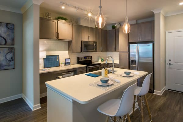 Eco-friendly kitchens at Reserve Decatur in Decatur